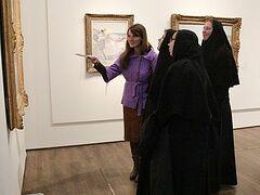 Сестры Горненской обители в Иерусалиме изучают религиозное искусство Европы