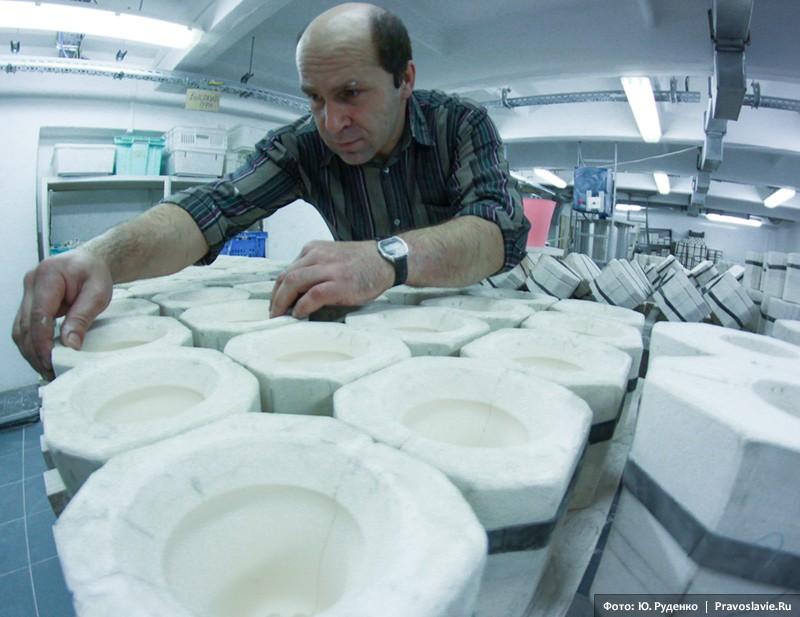 Подготовка форм к заливке