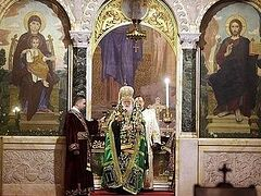 В Болгарии молитвенно отметили годовщину интронизации Патриарха Неофита