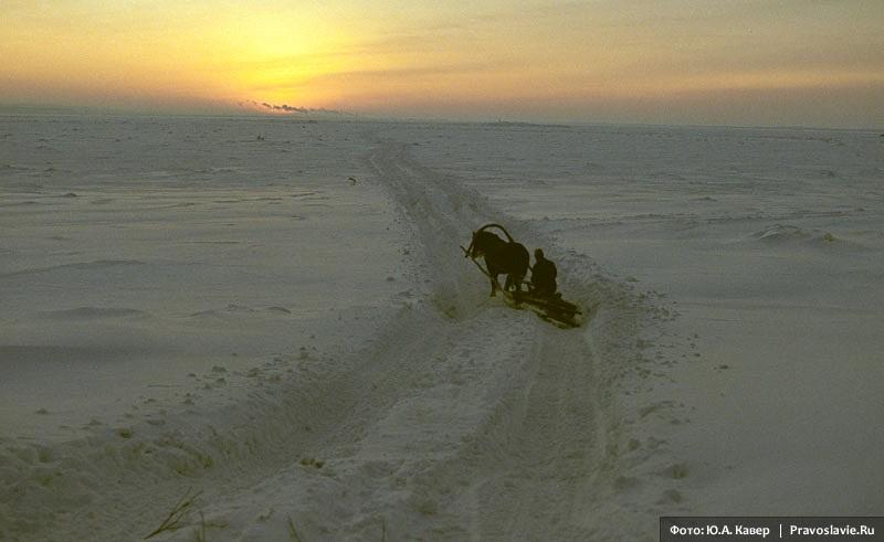 Я по первому снегу бреду. В сердце ландыши вспыхнувших сил