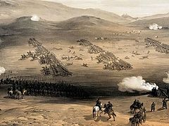 The Crimean war. The key to conflict