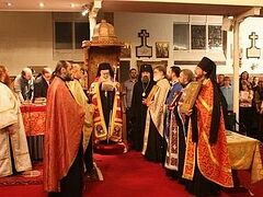 В Лондоне отслужили Всеправославную вечерню