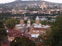 Mass procession in support of Serbia takes place in Tbilisi