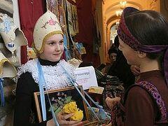 Пасхальная благотворительная выставка проходит в Петербурге