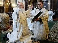 В преддверии Пасхи Святейший Патриарх Кирилл совершил молитву об Украине