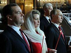 Владимир Путин поздравил Патриарха Кирилла со Светлым Христовым Воскресением