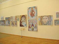 Выставка современного церковного искусства представлена на Ставрополье