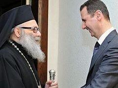 Syria Christians won't succumb: Orthodox Patriarch