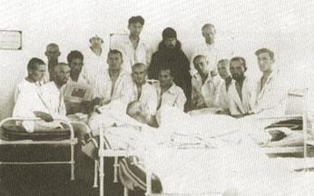 Иеромонах Иоанн в Битольской семинарии