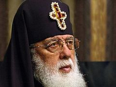 "Catholicos-Patriarch Ilia II: ""I will ask the Lord to give the people strength"""