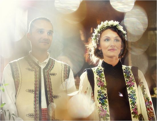 A Romanian wedding.