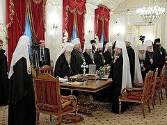 Священный Синод утвердил ряд назначений на епархиальные кафедры