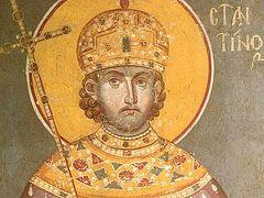 Почитание имп. Константина в России