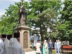 В Симферополе открыли памятник прп. Сергию Радонежскому