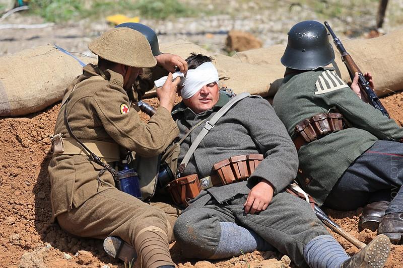 Перевязка раненых