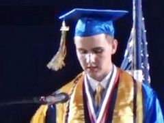 California Student Speaks Openly About His Christian Faith in Graduation Speech Defying School's Order