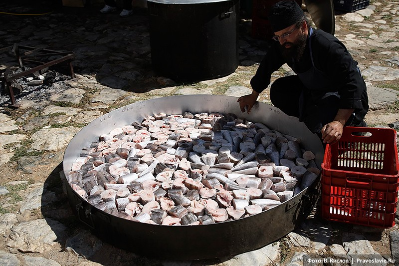 Μαγειρεύοντας ψάρια