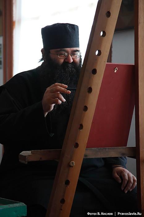 Монах-иконописец