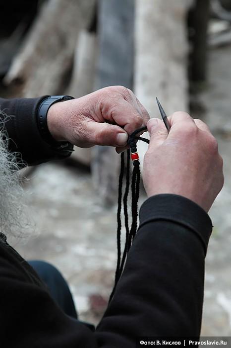 Πλέκοντας κομποσχοίνια