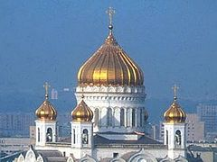 Moscow's Christ the Saviour cathedral lovingly rebuilt