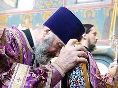 Верные, об оглашенных помолимся…