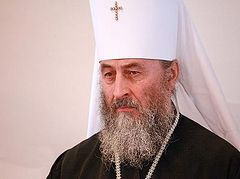 Metropolitan Onuphry asks the Ukrainian president to prevent seizure of monasteries and churches