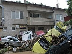 Homelessness, grief, and a poor harvest in the wake of Bulgaria's floods