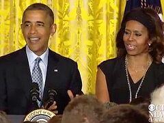 Президент Обама устроил в Белом доме официальный прием для гомосексуалистов