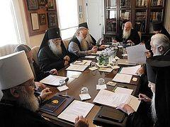 Завершился Архиерейский Собор Русской Зарубежной Церкви