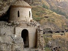 Unique cave monastery complex of 12th-13th centuries in Georgia to be conserved