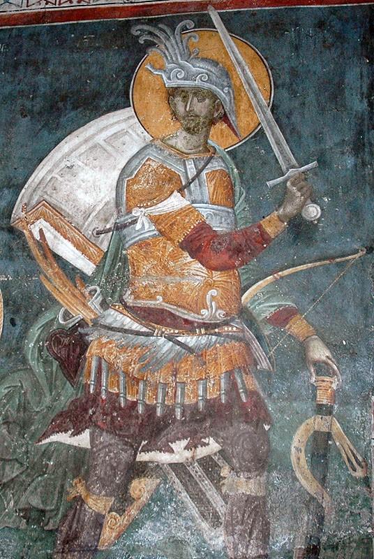 Святой великомученик Меркурий