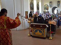 Свято-Ольгинский монастырь в Луганске: престольный праздник состоялся