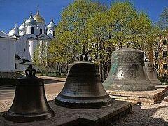 Колокола Новгородского кремля прозвучали впервые после войны