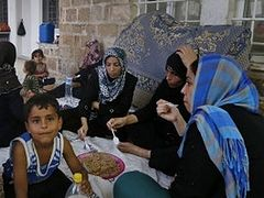 Muslim Gaza Refugees Find Shelter In Greek Orthodox Church