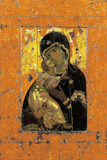 Vladimir icon of the Mother of God.