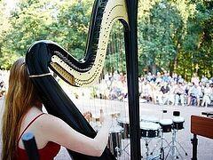 Очередной благотворительный концерт прошел в Голицынском саду