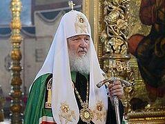 Патриарх Кирилл совершил панихиду на 40-й день кончины митрополита Киевского и всея Украины Владимира