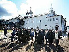 Патриарх Кирилл провел совещание по вопросам развития Соловецкого архипелага