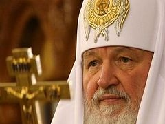 His Holiness Patriarch Kirill addresses the U.N., the European Council, and the OSCE concerning facts of persecution against the Ukrainian Orthodox Church in besieged southeast Ukraine.