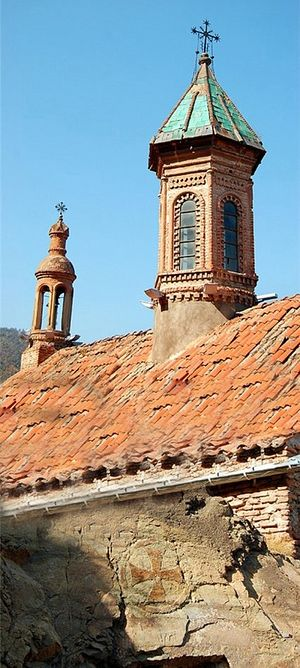 Храм великомученика Георгия в Клдисубани