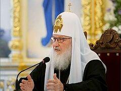 Святейший Патриарх Кирилл: Важнейшей задачей образования является формирование у учащихся целостной картины мира