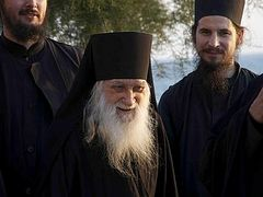 The most ancient Russian monastery on Holy Mount Athos being restored
