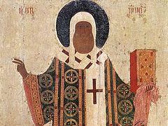 Идеалы Святой Руси. Проповедь в день праздника свт. Петра
