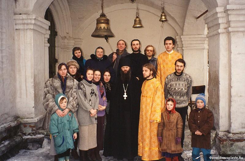 С отцом Анастасием