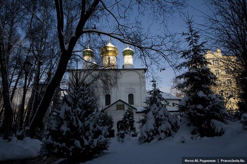 Собор в честь Сретения Владимирской иконы Божией Матери