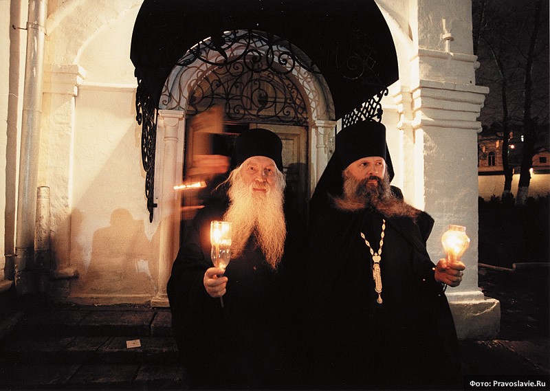 Схиархимандрит Анастасий и инок Аркадий