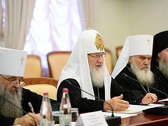 Patriarch Kirill concerned about sects spreading in the Far East