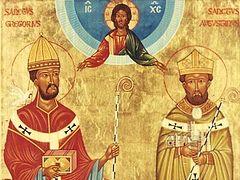 Святители Григорий Двоеслов и Августин Кентерберийский – апостолы англов