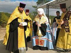 В Севастополе заложили новый храм