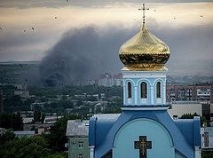 """Priest in Lugansk: """"Nobody even thought of going away, of leaving the church and parishioners"""""""